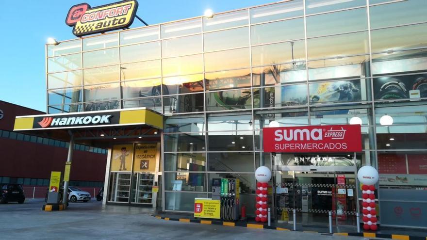 GM FOOD obrirà supermercats SUMA a les benzineres Confortauto