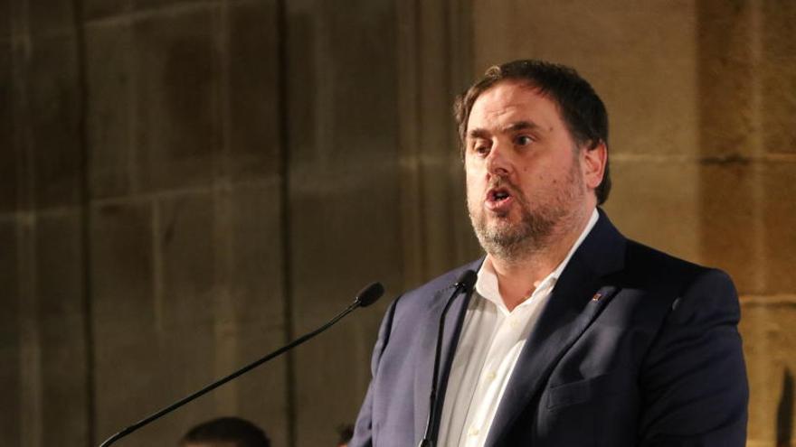 Junqueras defensa Catalunya no es farà enrere i crida a consolidar la República el 21-D