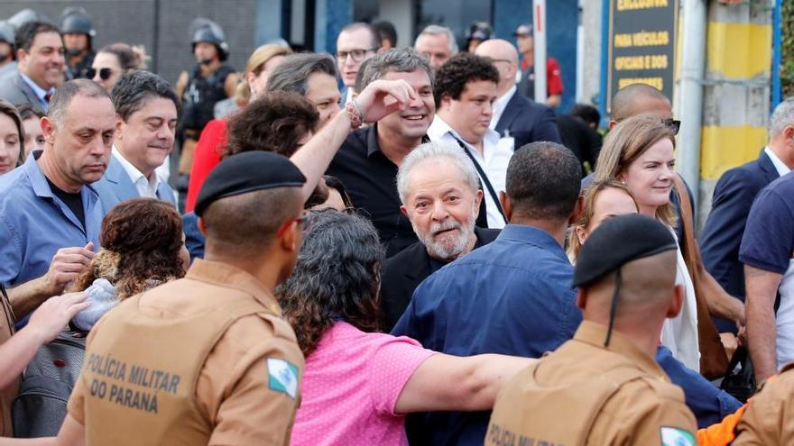 Lula da Silva, en libertad
