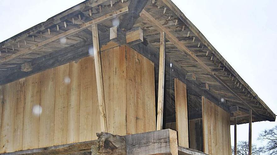 Negales hace piña para reformar una panera con más de dos siglos de historia
