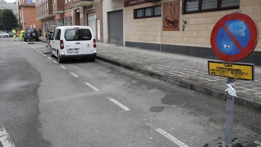La calle Pablo Olavide inicia las obras de peatonalización