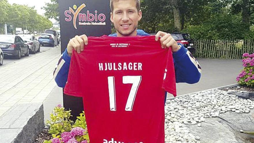 El Celta hace oficial el traspaso de Andrew Hjulsager al Oostende belga