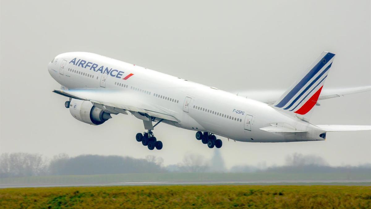 Un avión de Air France.
