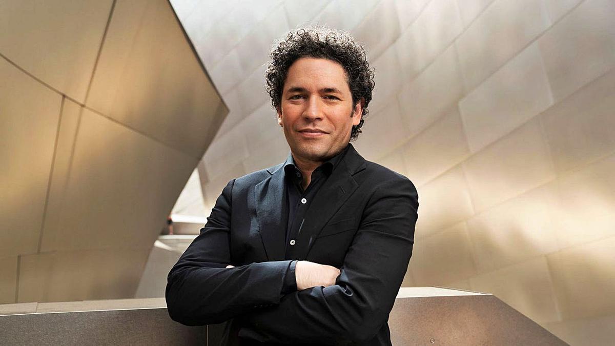 El director de orquesta venezolano Gustavo Dudamel. | | LP/DLP