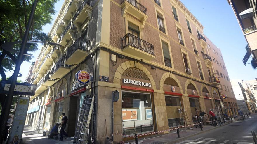 Nuevo Burger King en el barrio del Carmen
