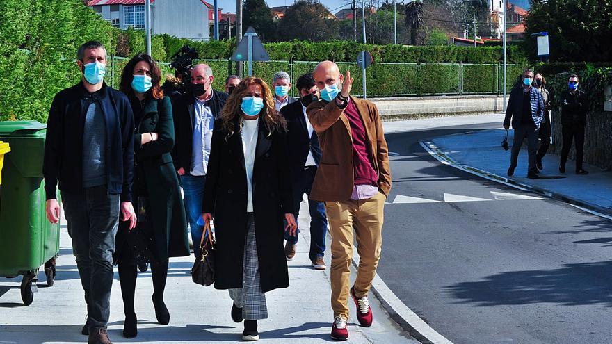 La reforma del entorno de Fexdega mejora la seguridad de peatones y conductores
