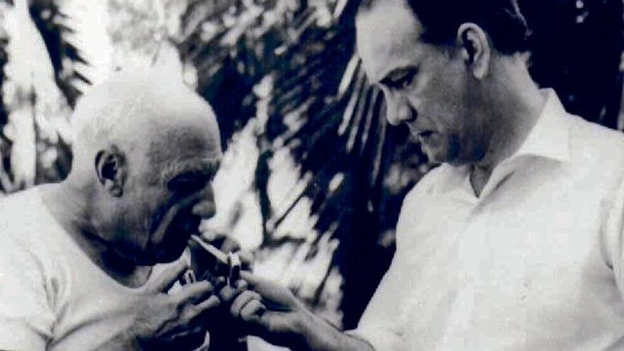 Picasso habla en primera persona en un libro que recopila sus entrevistas