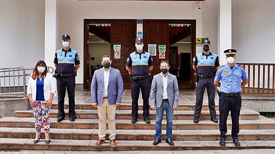 La Policía Local cuenta con tres subinspectores más y alcanza los 140 efectivos