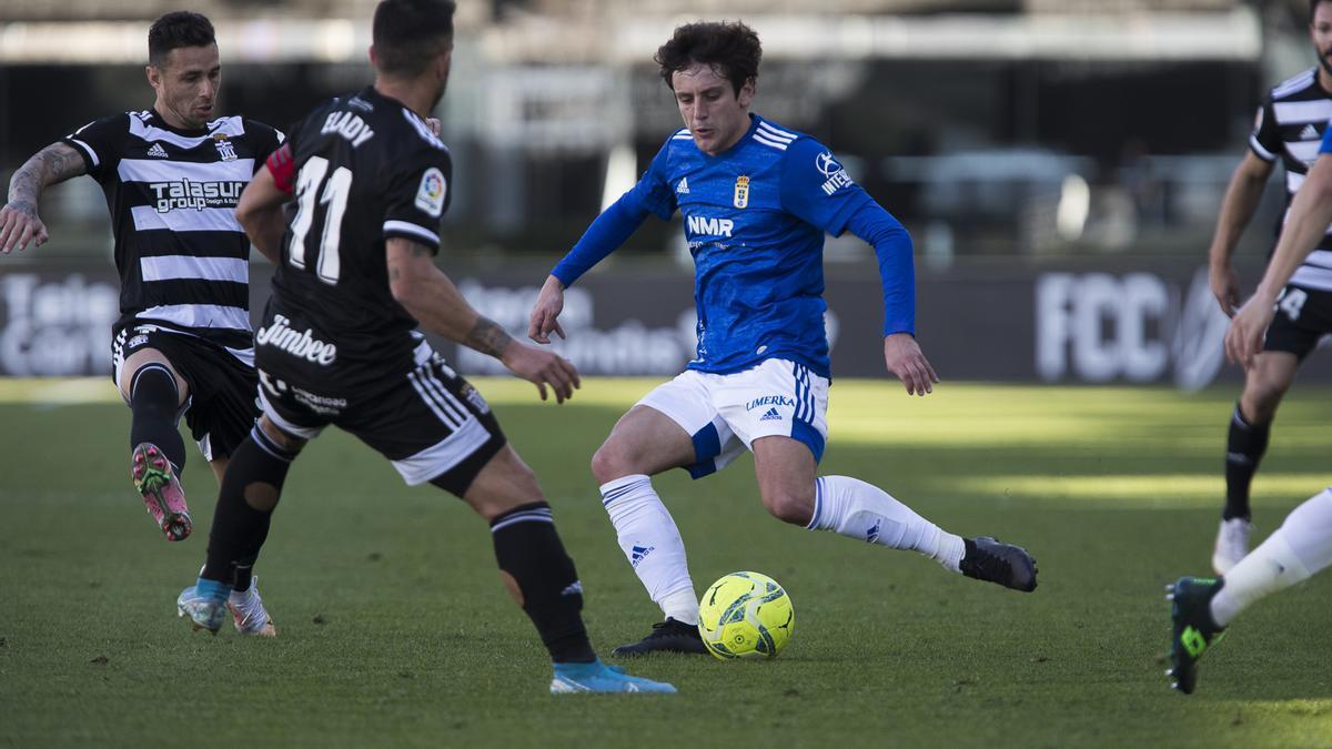 El partido del Real Oviedo ante el Cartagena, en imágenes