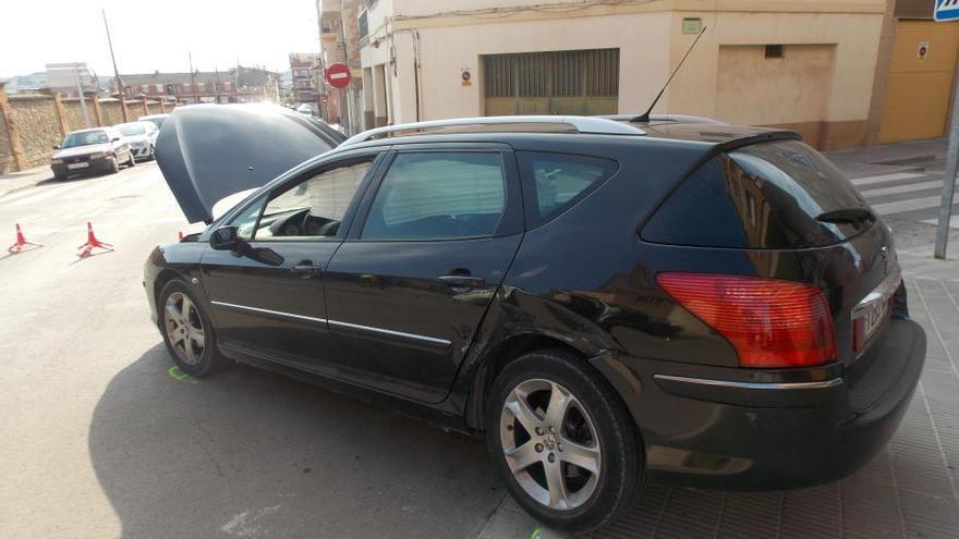 Un policia de Sant Fruitós resulta ferit en un accident amb el cotxe patrulla