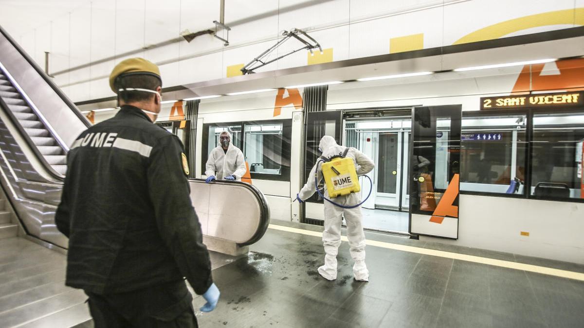 El TRAM sufre un descenso en Alicante del 94% de usuarios en abril debido al estado de alarma