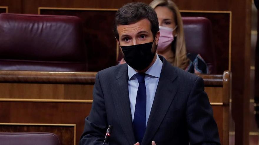 """El PP ve en los PGE la """"traición"""" de Sánchez a España"""