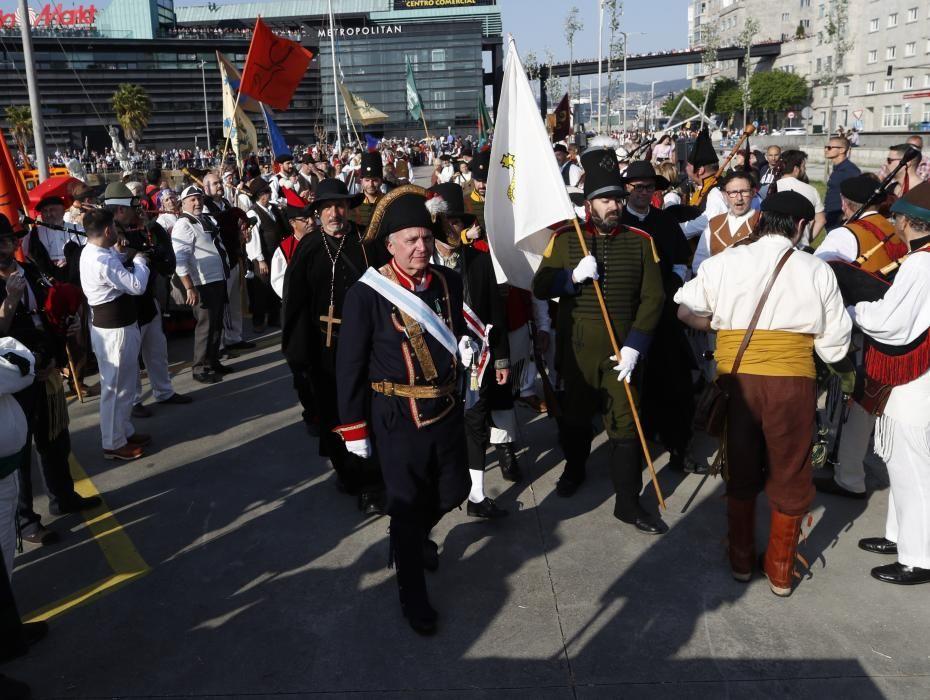 Vigo expulsa a los franceses con un mes con un mes de retraso.