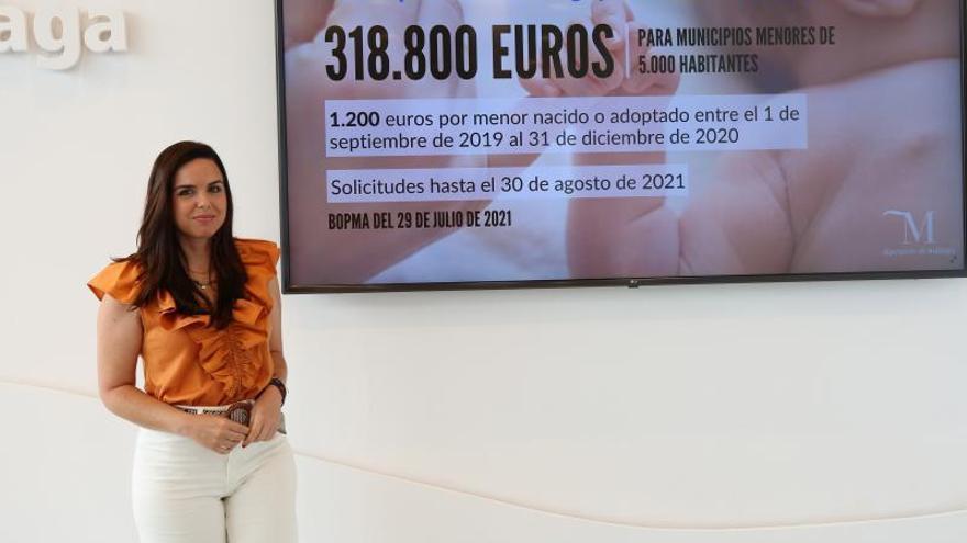 Más de 260 familias se beneficiarán de las ayudas por nacimiento de la Diputación