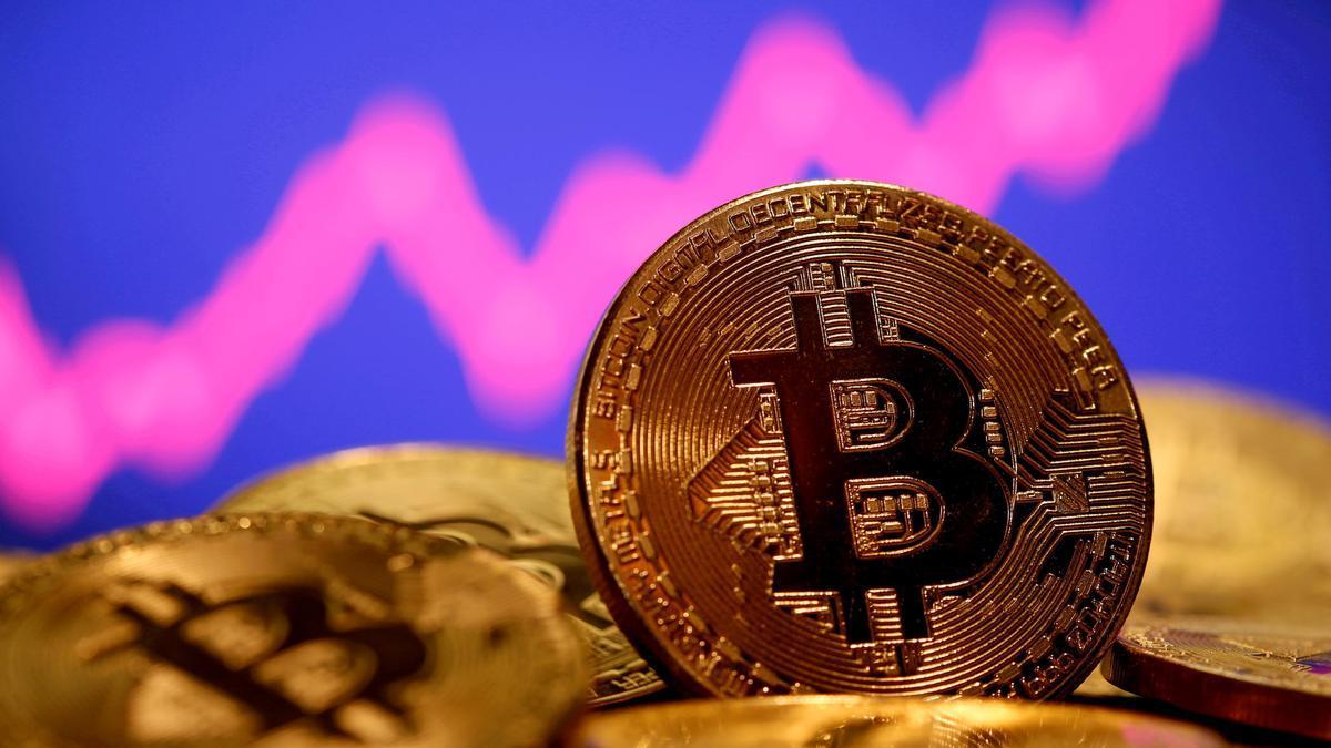 Una imagen que representa el bitcoin.