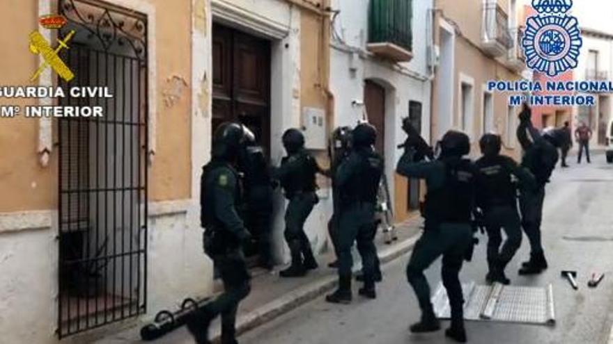 Cae una peligrosa banda de narcos internacionales asentada en la Marina Alta