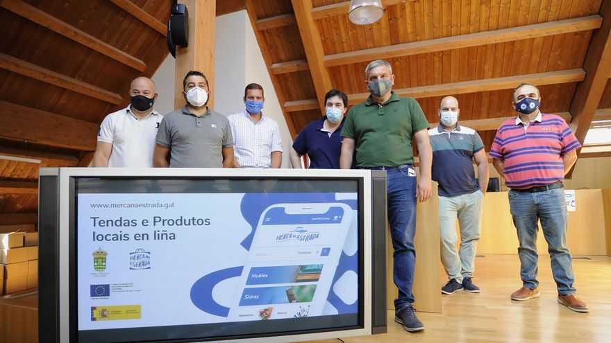 El comercio 'online' trata de consolidarse en Deza y Tabeirós mediante las plataformas municipales