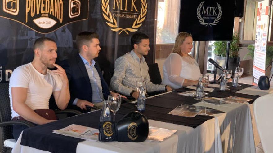 Se presenta el primer centro de entrenamiento de Boxeo MTK Canarias - Tenerife