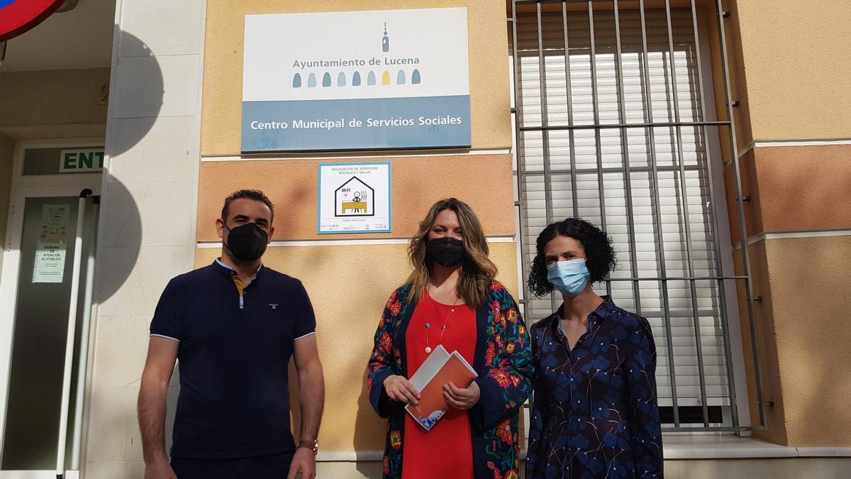Presentación del proyecto de accesibilidad para personas autistas en Lucena