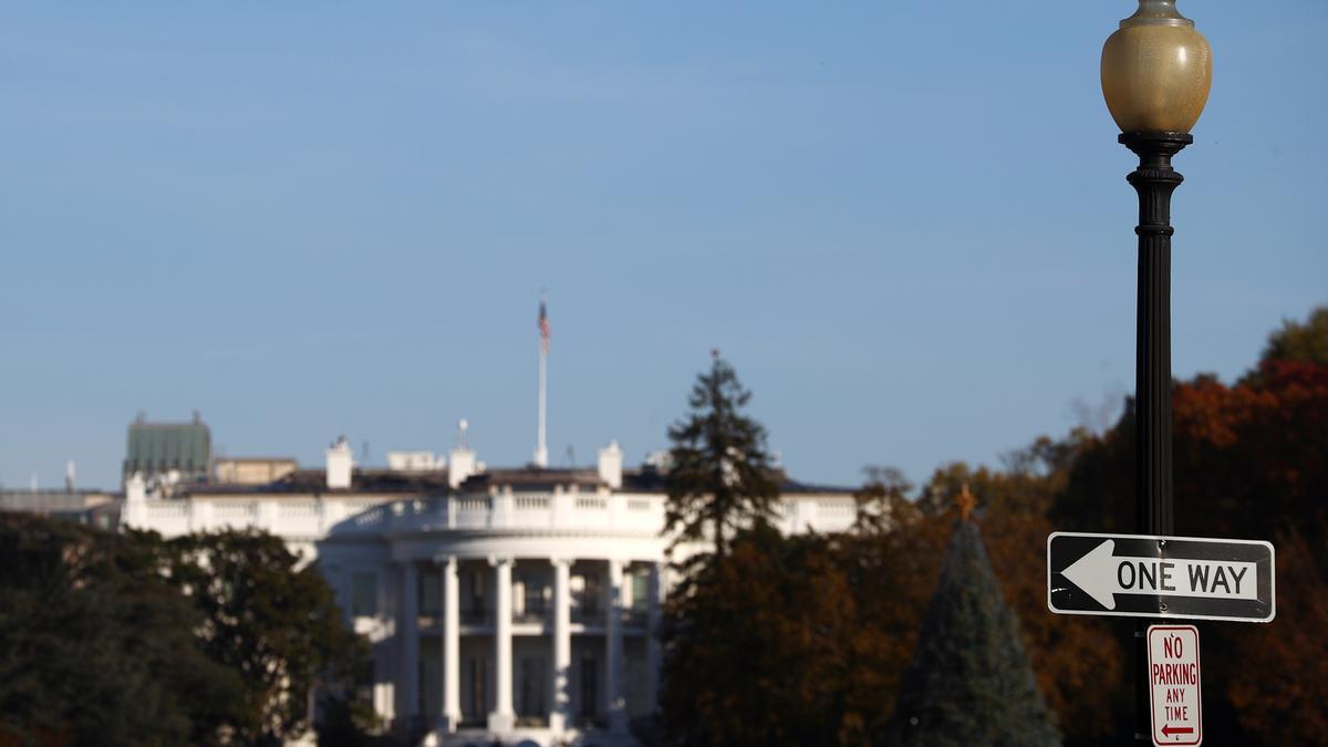 Fachada de la Casa Blanca.