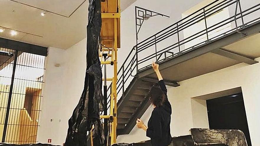 Amparo Sard exhibe 'El peso de la aberración' en el museo DA2 de Salamanca