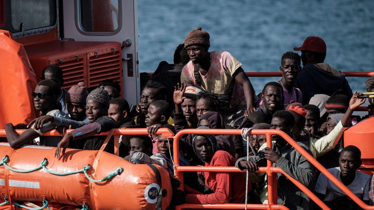 Solo el 8,6% de las 3.983 peticiones de asilo en Canarias fueron de africanos