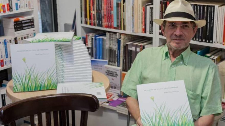Miguel Ángel Moyà presenta 'El jardín de la casa de mi madre'