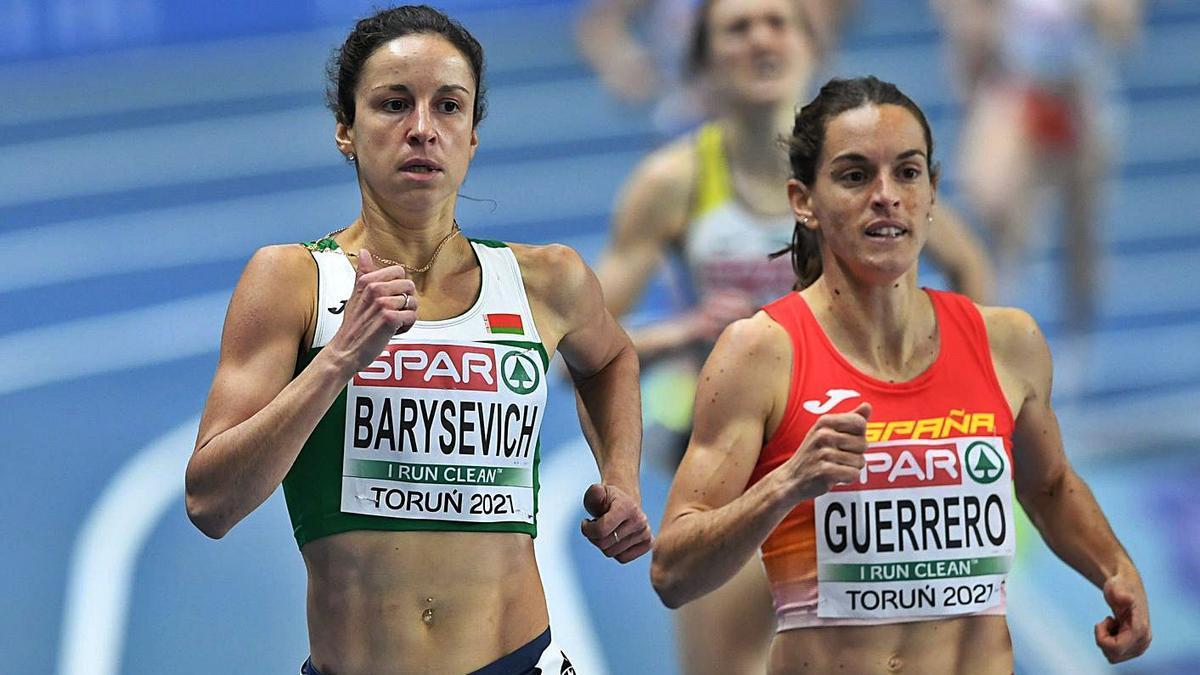 Guerrero, en els passats campionats d'Europa de pista coberta