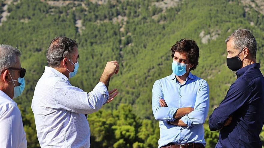Cs propone en Guadalest modernizar la agricultura para combatir la Xylella
