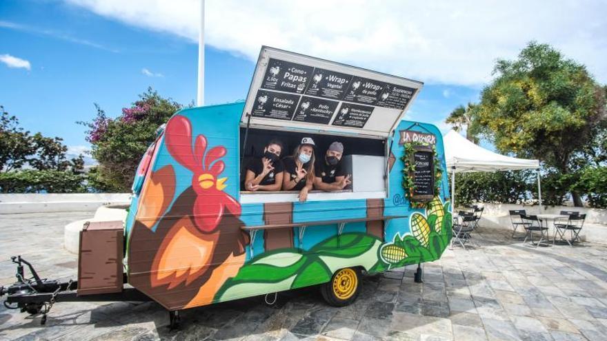 Los food trucks: carros ambulantes de comida de LPGC