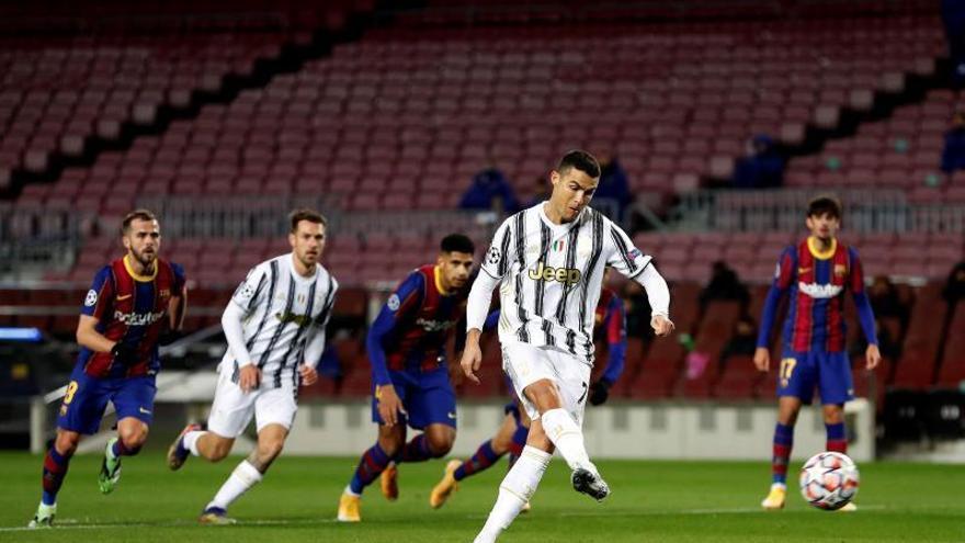El Barça es dessagna i regala el primer lloc de grup a la Juventus