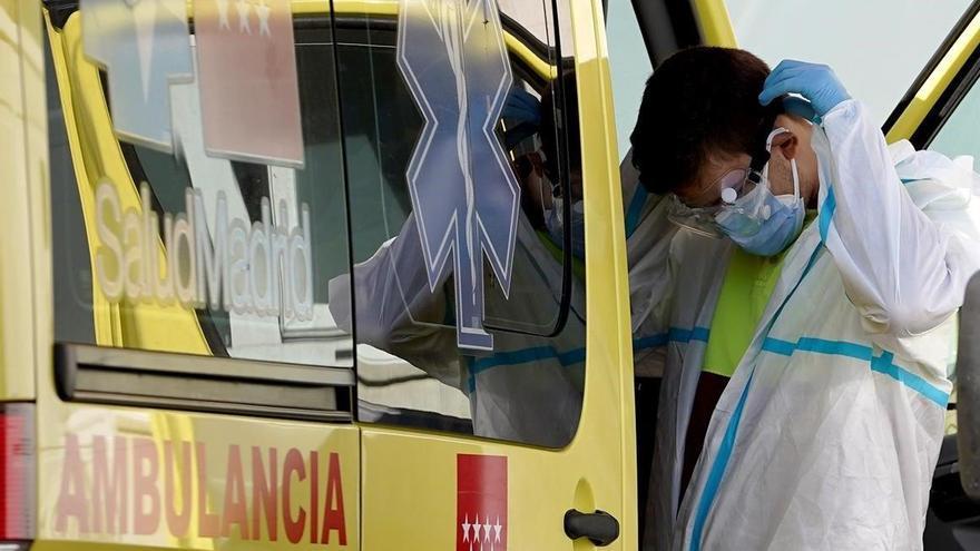 La ausencia de tests y rastreos oculta los contagios en las ambulancias
