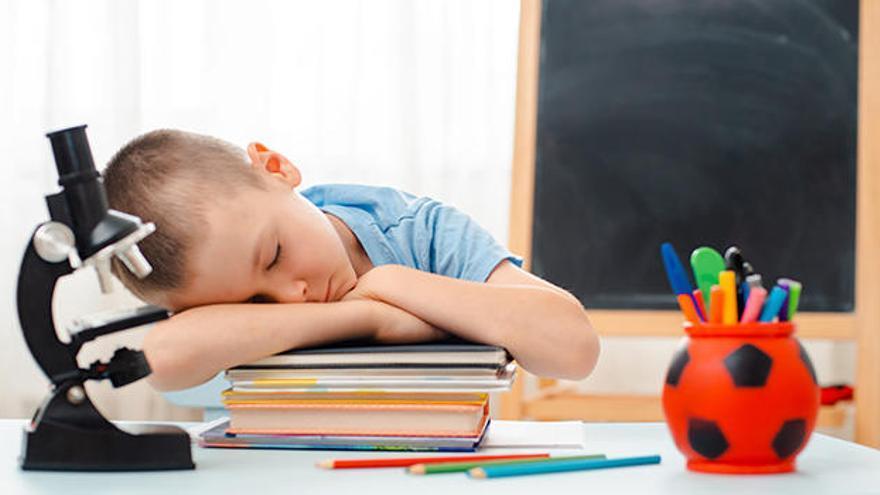 Cómo solucionar los problemas de sueño en niños en la vuelta al cole