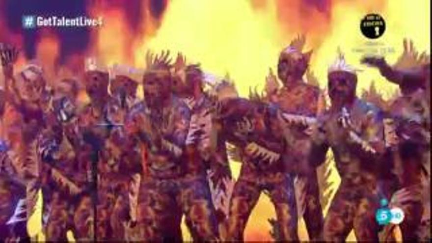 Gran pantalla para ver a Zeta-Zetas en la final de 'Got Talent'
