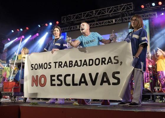 Final de murgas del Norte del Carnaval de Tenerife
