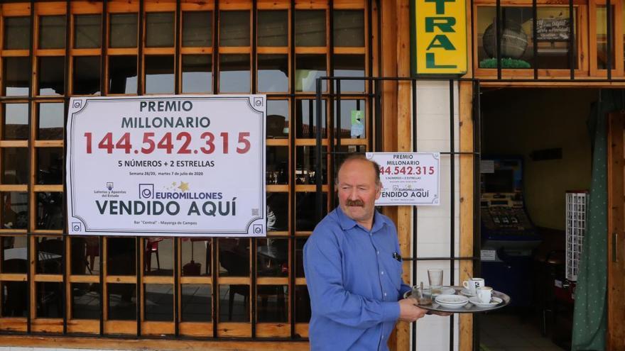 El boleto de Mayorga (Valladolid) busca de nuevo la suerte este viernes