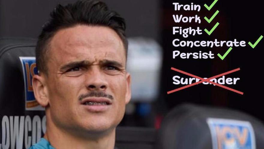 El mensaje de Roque Mesa desde el banquillo del Swansea