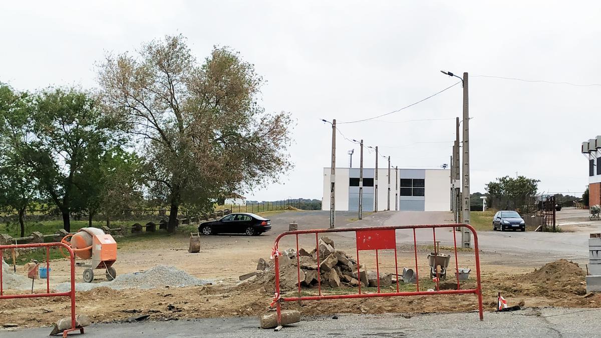 Inicio de obras en los accesos al recinto ferial