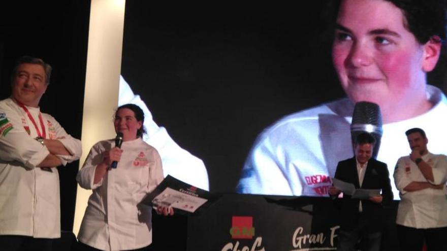 La joven Eugenia Lorente, de Santa Pola, gana el concurso GMchef