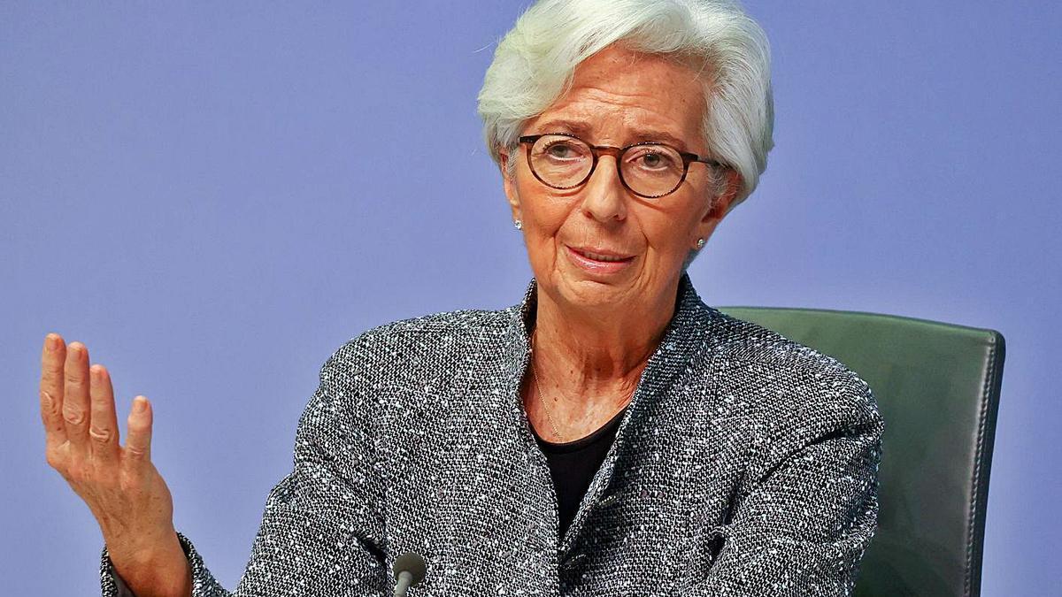Christine Lagarde, presidenta del Banc Central Europeu. | REUTERS