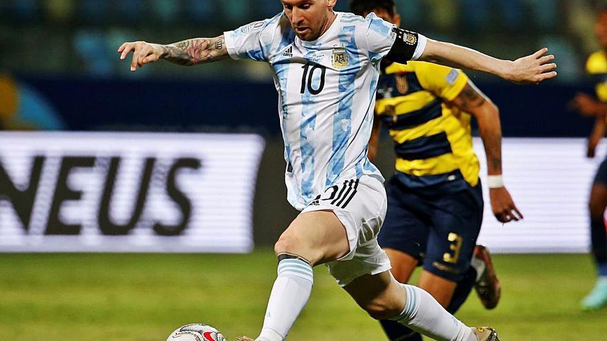 Argentina alcanza las semifinales de la Copa América y Uruguay cae ante Colombia