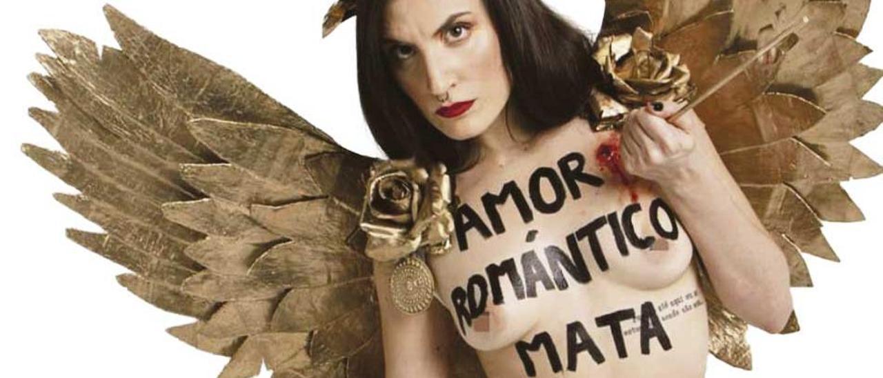 Una activista de Femen.