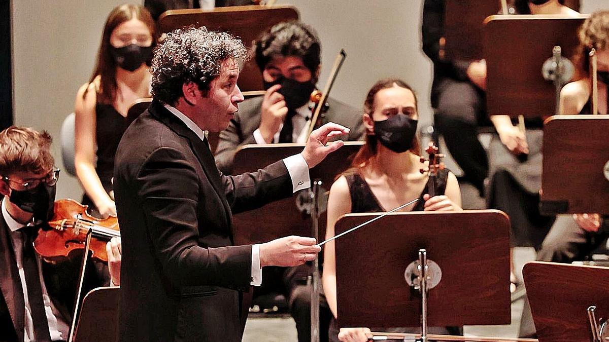 Dudamel en un instante del concierto. | | MARÍA PISACA