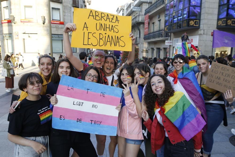 Vigo celebra la diversidad con ''''orgullo''''. // Alba Villar | FdV