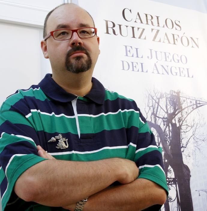 SPANISH WRITER CARLOS RUIZ ZAFON PRESENTS HIS ...