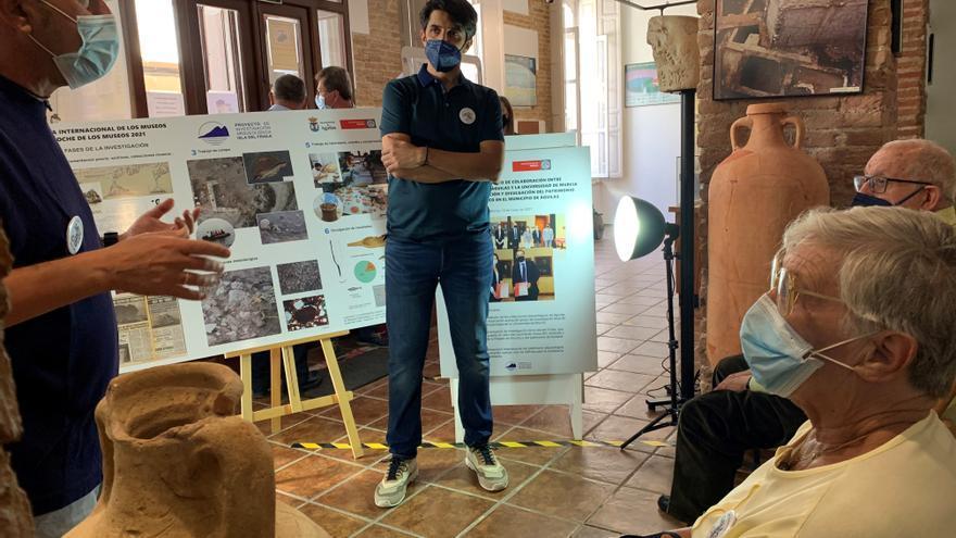 Noche de los Museos de Águilas: Jornada protagonizada por los hallazgos arqueológicos de la Isla del Fraile