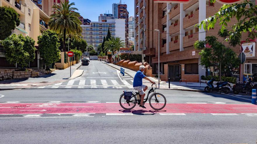 Las obras de renovación de la avenida de Roma de Benidorm arrancarán el próximo lunes