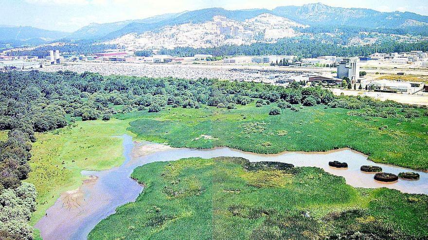 Porriño mejorará la carretera de acceso a As Gándaras de Budiño