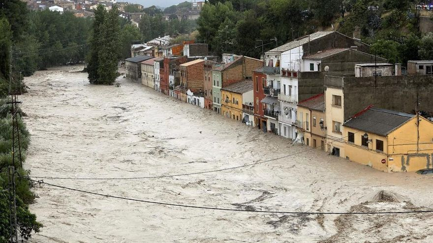 Emergencias decreta la situación 0 en la Vall d'Albaida