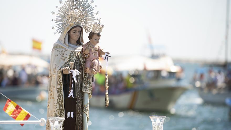 San Pedro tiene muy presente a la Virgen del Carmen en otro 16 de julio atípico